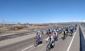 В Бостанлыке стартовал турнир памяти по велошоссе