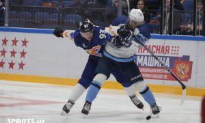 Хоккей. «Ҳумо» - «Рязан» 5:0 (видео)