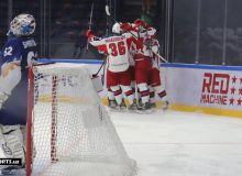 Zvezda Chekhov beat HC Humo to earn a 3-1 lead in Supreme Hockey League quarterfinal series