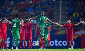 Саудия Арабистони Осиё чемпионати (U23) мезбонини мусобақадан чиқариб юборди (видео)