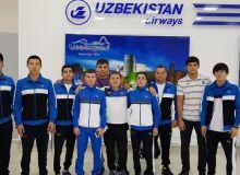 Борцы Узбекистана участвуют в чемпионате мира
