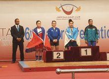 Kumush Fayzullaeva picks up a silver medal in Qatar
