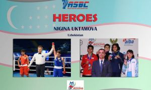 ASBC Heroes – Uzbekistan's promising female boxer Nigina Uktamova hopes to conquer the youth age group