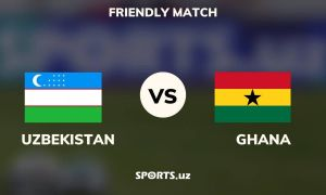 Ўзбекистон - Гана: Машарипов жамоамизни олдинга олиб чиқди! (матнли трансляция)