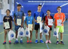 Uzbekistan Badminton Championship takes place at WIUT