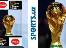 Кубок мира по футболу посетил Ташкент.
