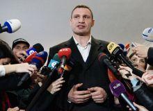Vitaliy Klichko jurnalistga hujum qildi...Tomosha qiling!