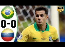 Бразилия - Венесуэла 0:0 (видео)