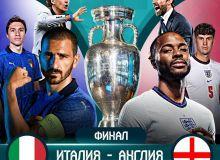 Евро-2020. Италия - Англия: Матнли трансляция