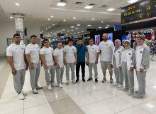 Наши атлеты отбыли в Украину для проведения последнего сбора перед Токио-2020