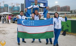 Впервые в истории узбекского спорта завоевана лицензия на Олимпиаду по современному пятиборью