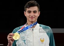 Ulugbek Rashitov wins historic taekwondo medal for Uzbekistan