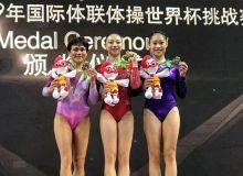 Oksana Chusovitina Xitoydagi musobaqada kumush medalni qo'lga kiritdi