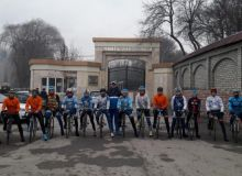 Сборная Узбекистана по велоспорту на шоссе готовится к домашнему чемпионату Азии