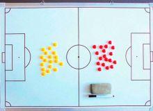 Тренерское образование: правильная работа с макетом поля.