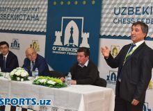 В федерации шахмат Узбекистана состоялась конференция посвященная итогам Всемирной шахматной Олимпиаде