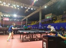 Uzbekistan's table tennis players kick-off their ITTF Asian Table Tennis Championship campaign in Indonesia