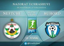 «Нефтчи» сегодня проведет контрольный матч против «Бухары»