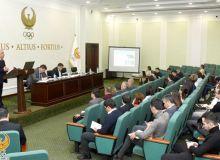 Президент НОК провёл встречу с пресс-секретарями спортивных федераций и ассоциаций