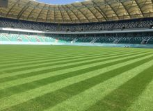 «Миллий» стадионининг майсасини Туркия компанияси ажойиб ҳолатга келтирмоқда (Фото)