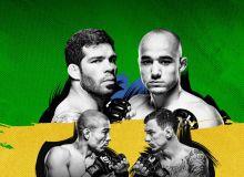 UFC Fight Night 144. Жозе Альдонинг қайтиши, Уокернинг 15 сониялик баҳси ва бошқа натижалар