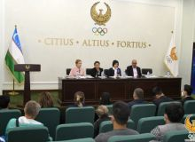 A press conference was held in Tashkent before the start of the international judicial exam