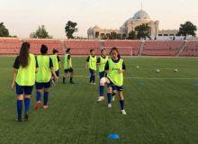 Женская сборная Узбекистана U-20 провела первую тренировку в Душанбе