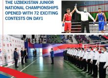 The Uzbekistan Junior National Championships opened with 72 exciting contests on Day1