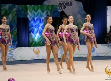 В Ташкенте стартует Кубок Мира по художественной гимнастике