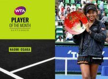 Наоми Осака энг яхши теннисчига айланди