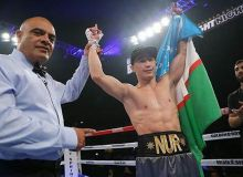 Эльнур Абдуримов в дебютном бою нокаутировал соперника