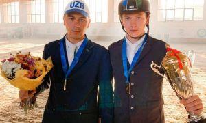 Ещё один турнир по конкуру прошёл успешно для спортсменов Узбекистана