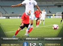 Match Highlights. Korea Republic 1-2 Uzbekistan U23