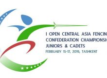 Tashkent to host Central Asia Fencing Confederation Championship