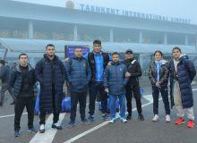 Делегация сборной Узбекистана по дзюдо отбыла в Грузию
