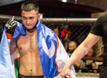 Uzbekistan's MMA fighters take part in Ledоkol Fighting Championship
