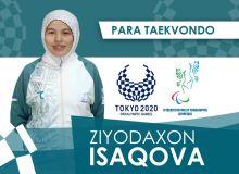 Зиëда Исакова вышла на даян за бронзу
