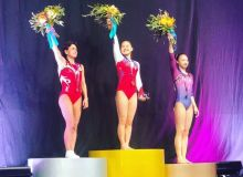 Оксана Чусовитина завоевала серебряную медаль этапа Кубка мира в Мельбурне