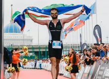 Uzbek athletes to take part in the Ironman 70.3 World Triathlon Championship in Nur-Sultan
