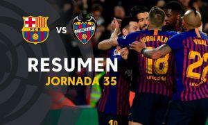 """""""Барселона"""" - """"Леванте"""" 1:0 (видео)"""