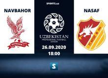 Match Highlights. FC Navbahor 0-0 FC AGMK