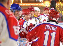 Путин хоккей ўйнади (видео)
