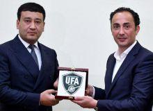Умид Ахматджанов встретился со специалистами Ла лиги