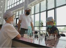 В Нурафшане прошли соревнования среди детей