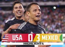 АҚШ - Мексика 0:3 (видео)