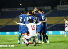 Фотообзор товарищеского матча между олимпийскими сборными Узбекистана и Ирана