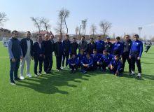На спортивной базе «Чигатай» состоялся мастер-класс с участием членов национальной сборной Узбекистана