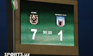 Match Highlights. FC AGMK 7-1 FC Kokand-1912