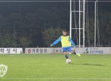 Олимпийская сборная Узбекистана провела официальную тренировку перед матчем с Южной Кореей
