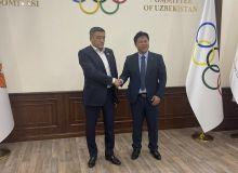 Председатель НОК встретился с корейским специалистом по курашу